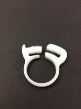 Manufacture plastic pipe saddle clamps for 51.0-54.0mm outer diameter tube