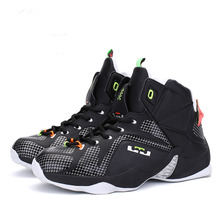 2017 new men basketball shoes sport sneakers air high ankle james Basket Homme boots Trainers Zapatillas size 10 11 12(China)