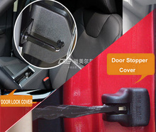 ACCESSORIES FIT FOR VOLVO XC60 XC90 S80 V40 S60 V60 C30 DOOR LOCK+STOPPER COVER BUCKLE CAP LIMITING