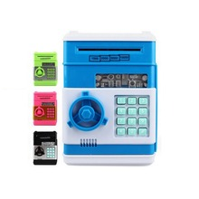 Safety Electronic Piggy Bank Code Digital Coins Cash Deposit Money Box Secret Mini ATM Machine Children Practical Jokes Toy(China)