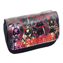 Five Nights at Freddy's FNAF Student Zipper Pencil Case Cosmetic Bag Pouch Purse(China)