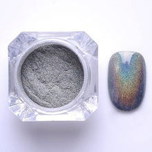 1g Colorful Nail Holographic Dust Mermaid Trend Laser Glitter Powder Pigment glitter for nail art M02738