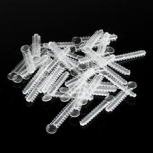 40Pcs/Pack Clear Dental Orthodontic Elastic Ligature Ties Material Transparent Color Rubber Bands Dentist Product For Teeth Tool