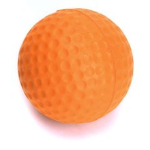 1pcs PU Golf Balls Golf Training Soft Foam Balls Practice Ball Orange
