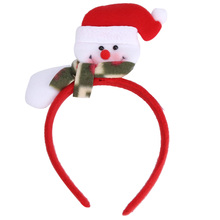 "New Top Fashion 12*25cm/4.72*9.84""  Colorful Adult child Christmas Party Supplies Luminescence Hairpin vicky  shop"