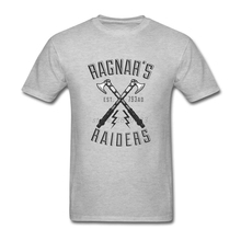 Amazing Tshirts Men's Vikings Ragnar's Raiders Men Tshirts Custom Cotton Short Sleeve Teenage Clothes Tops