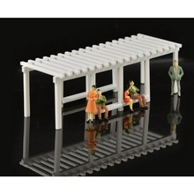 1 Pcs Architectural Model Green Landscape Bridges 1:50 Sand Table Model Hot Selling(China)