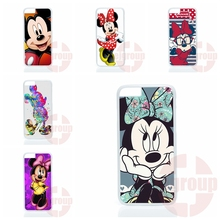 Phone Cover Case Coque cute minnie mickey cartoon For Moto X1 X2 G1 G2 E1 Razr D1 D3 For BlackBerry 8520 9700 9900 Z10 Q10