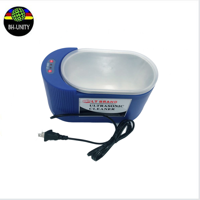 wholesale 1pc 35W/60W 220V AC ultrasonic printhead cleaning machine for DX2 DX4 DX5 DX6 DX7 DX10 head cleaner bath <br>