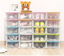 New Arrival Shoe Box Multifunctional Storage Box Toy Sundries Plastic Storage Box Free Combination Storage Box