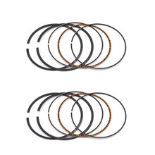 2 sets Bore Size 65mm Motorcycle Standard Piston Ring for SUZUKI VZ400 VZ 400 1997-2001(China)