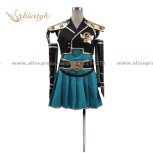 Kisstyle Fashion Samurai Warriors Chronicle 3 Heroine Uniform COS Clothing Cosplay Costume,Customized Accepted