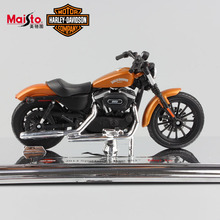 1:18 Scale maisto mini children Harley 2014 Sportster Iron 883 Special Diecast model motorcycle moto toys racing for kids boys