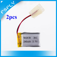 S107 Helicopter Battery 3.7v 240Mah Lipo Battery 30C 6020 for Syma S107 S108 S109 S026 RC Quadcopter Accessories DIY Drone