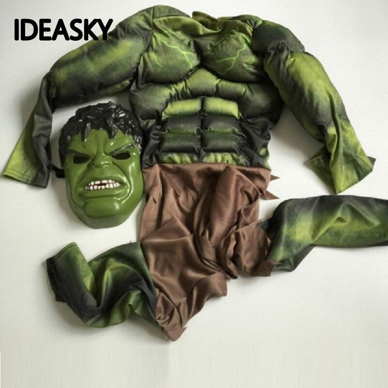 Marvel Hulk Costume For Kids Ragnarok Green Thor