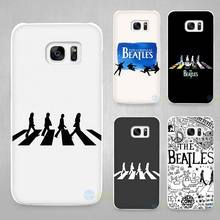 beatles abbey road music England Britain Hard White Coque Shell Case Cover Phone Cases for Samsung Galaxy S4 S5 S6 S7 Edge Plus(China)