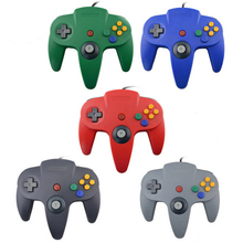 For Nintendo N64 Wired USB Controller Joystick For Gamecube Controle For N64 64 PC Gamepad For Mac Gaming Joypad
