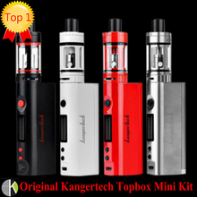 Original Kangertech Topbox Mini Upgraded Subox Mini  kit kanger 75W Subox Mini Pro Temperature Control Box Mod e cigarette vape