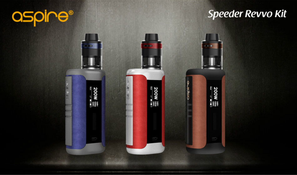 speeder revvo kit e-cigarette