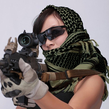 Outdoor Field Army Scarves Military Arab Shemagh Keffiyeh Shawl Tactical  Scarves Army Green CS Wargame Accessories Wrap HS
