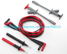 TP220+TL222+Alligator Clip,Industrial Test Lead Set ,Can replace Fluke TL220 For Multimeter Meter(China)
