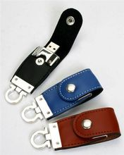 Leather White Black Brown Blue Pendrive Memory Stick Nice Gift Metal 2.0 USB Flash Drive 64GB 128GB 512GB 1TB 2TB Pen Drive Card