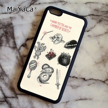 MaiYaCa Kawaii Harry Potter Doodle fashion soft mobile cell Phone Case Cover For iPhone 6 6S Custom DIY cases luxury shell(China)