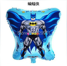 10PC 45*54cm Batman Shape Balloons Toys  Balloons Stand For Holiday Supplies Balloons Batman Free Shipping 4 orders