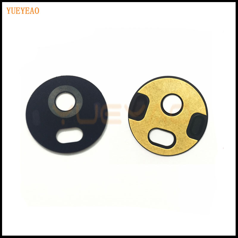 YUEYAO Rear Camera Glass Lens Cover Motorola Moto G5, G5 Plus Back Rear Camera Glass Lens + Adhesive Sticker Glue