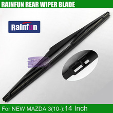 "Buy RAINFUN dedicated rear wiper blade NEW MAZDA 3, 2010, 14"" rear wiper blade new MAZDA 3 2010 for $7.73 in AliExpress store"