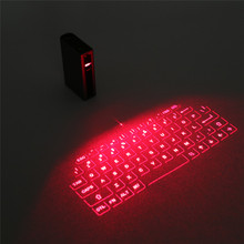 New Bluetooth Laser Projection Keyboard Virtual Keyboard for Smartphone PC Tablet Laptop Computer English keyboard HOT