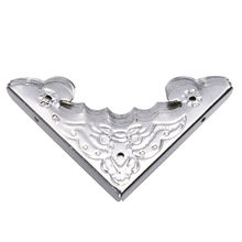 JETTING 12 PCS Antique Decorative Metal Corner Brackets Wooden Jewelry Box Feet Leg Corner Protector Cheap High Quality 40*40mm