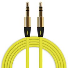 HL 2017 3.5mm Auxiliary Cable Audio Cable Male To Male Flat Aux Cable EF15E22#3(China)
