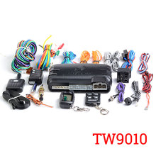 Free Shipping Two Way Car Alarm System TOMAHAWK TW-9010 with LCD Remote Engine Alarm Keychain with Auto Start Tomahawk tw9010
