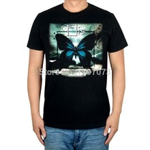 Elis - Dark Clouds In A Perfect Sky  cover men'sblack Gothic Metal  100% cotton T-Shirt