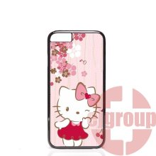 Soft TPU Silicon Cell Phone Case Cover For Apple iPhone 4 4S 5 5C SE 6 6S 7 7S Plus 4.7 5.5 Popular Elegant Painting Hello Kitty