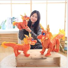 The New DIY  40cm2016 China dragon Soft Toy dragon baby doll emulation the festive Toy children & Gifts Free Delivery