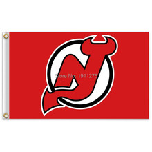 NHL New Jersey Devils Flag 3x5 FT 150X90CM Banner 100D Polyester flag , free shipping