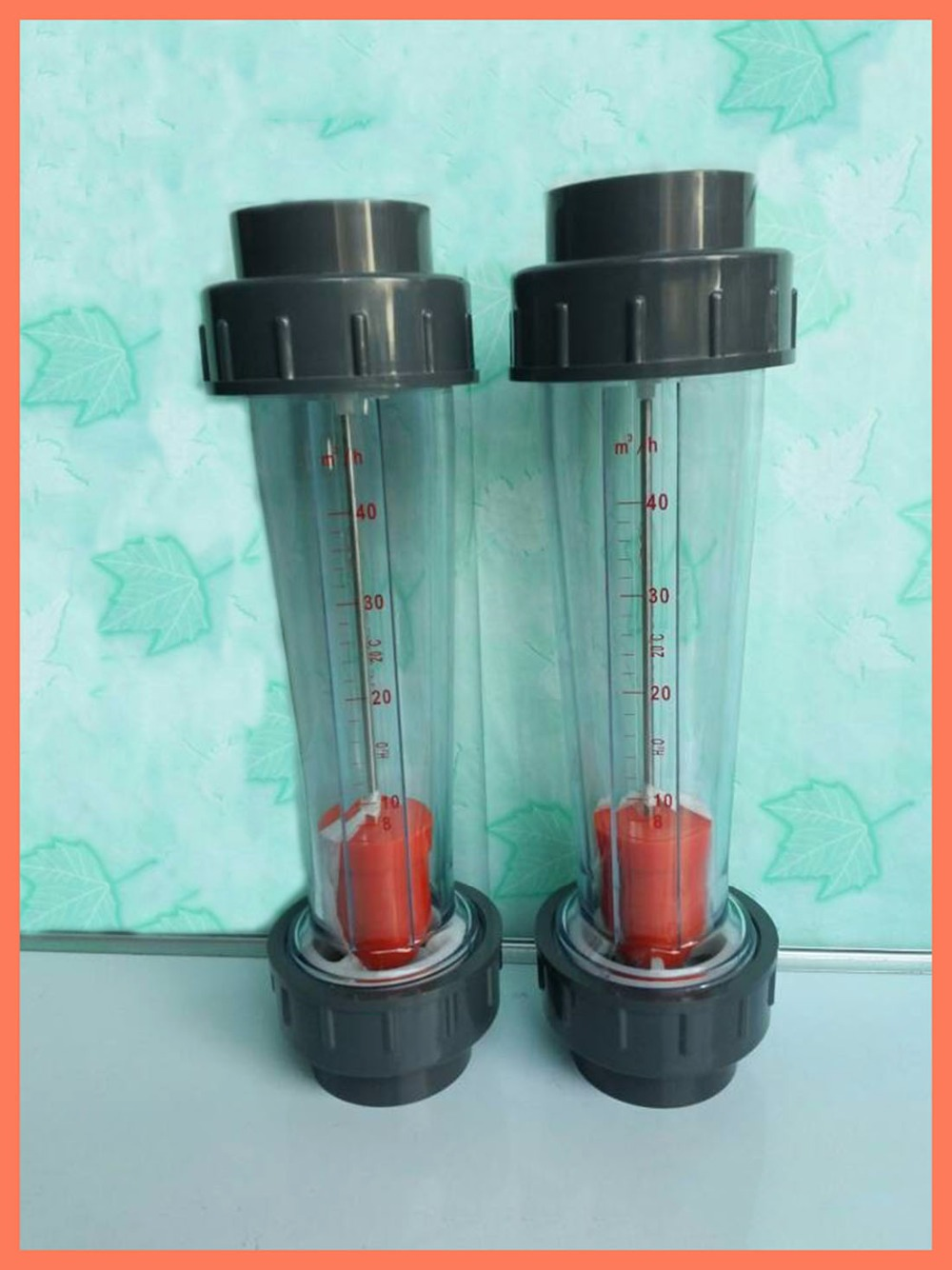 LZS-15 (10-100 L/H Long tube) Plastic pipe type rotor float liquid water meter Tools Measurement Instruments FlowMeters LZS15<br><br>Aliexpress