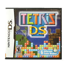 Nintendo NDS Game Tetris DS Video Game Cartridge Console Card US English Language Version