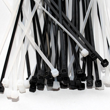 New Design 100pcs 3x100mm Network Nylon Plastic Cable Wire Organiser Zip Tie Cord Strap
