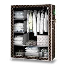 Wardrobe cupboard Bedroom Furniture armario closet armadio with shoe rack(China)