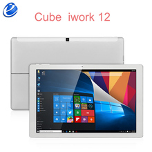 Originale cube iwork12 windows 10 home + android 5.1 dual os tablet pc 12.2 pollice ips 1920x1200 intel atom x5 z8300 iwork 12(China)