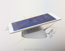 high quality anti-theft display device for ipad tablet pc security alarm acrylic stand with charger