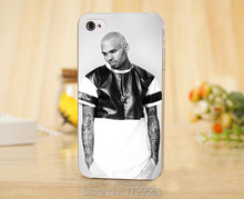 hot Popular Hip hop singer Chris Brown Soft Silicon transparent TPU Skin case for iphone 5 5s 4 4S 5c i6 6 6S plus i7 7 plus +