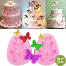 Butterfly Shape Silicone Fondant  Cake Molds Cake Decorating Tools Chocolate Mould Bakeware Tool