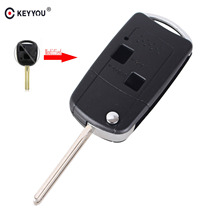 KEYYOU Modified Remote Key Fob Shell Case 2 Button For Lexus IS200 GS300 LS400 RX300 46mm Blade(China)