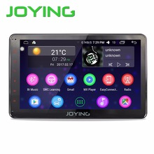 "Joying 10.1"" 2GB+32GB Car Stereo Autoradio GPS Navigation For Universal Single 1 Din Android 6.0 Quad Core 1024*600 Head Unit"