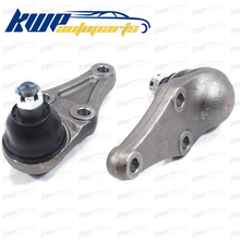 New Pair Ball Joint Lower Fits Mitsubishi Pajero SUV Montero V73W V68W 2001-2006 #:4013A090,4013A211,MR992299,4013-A090T(China)