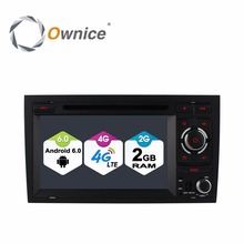 1024 Octa Core 2GB RAM Android 6.0 Car DVD Player For Audi A4 2002-2007 Seat Exeo 2009-2012 Radio GPS Navigation 4G SIM LTE Wifi